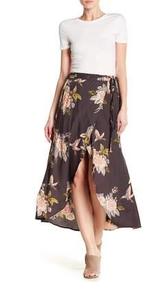 Angie Floral Tulip Hem Skirt