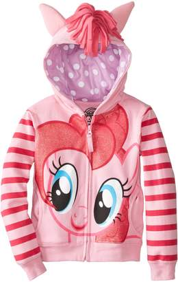 My Little Pony Little Girls' Toddler Pinky Pie Hoodie & T-Shirt, Pink