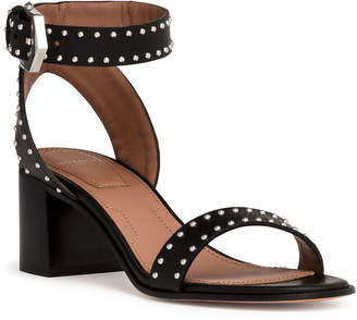 Givenchy Black leather Elegant sandals