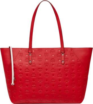 28fc5094 MCM Klara Shopper In Monogram Leather