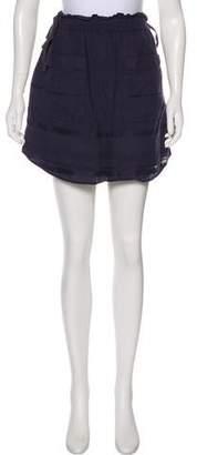 3.1 Phillip Lim Linen Mini Skirt