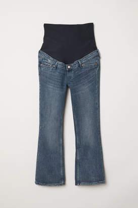 H&M MAMA Kick Flare Jeans - Blue