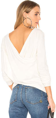 Central Park West Zion Crossed Back Sweater
