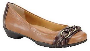 Softspots Comfortiva Posie Braided Leather Flats
