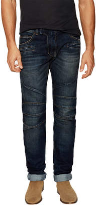Balmain Faded Whiskered Slim Fit Pant