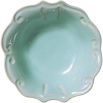 Vietri Incanto Stone Baroque Cereal Bowl, Aqua