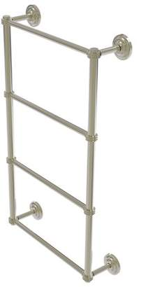 Q.U.E Allied Brass New Collection 4 Tier 36 Inch Ladder Towel Bar with Dotted Detail