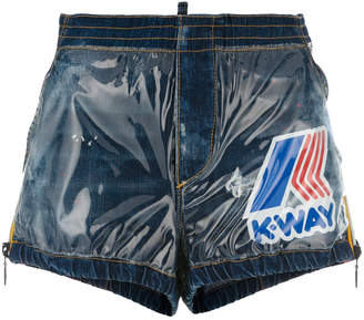 DSQUARED2 K-Way track shorts
