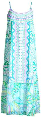 Lilly Pulitzer Winni Print Flounce Shift Dress
