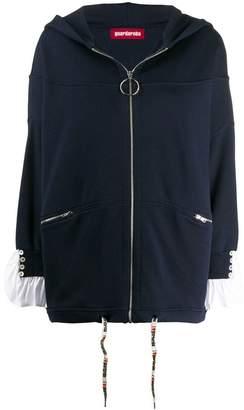 Guardaroba ruffled cuffs hoodie