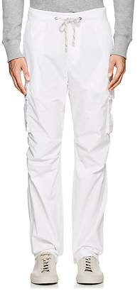 James Perse MEN'S COTTON POPLIN CARGO PANTS