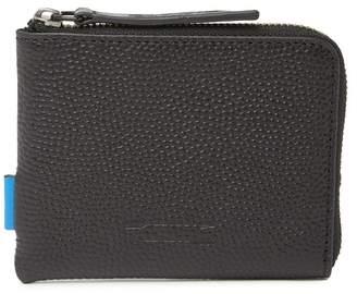 Uri Minkoff Levi Pebbled Leather Wallet