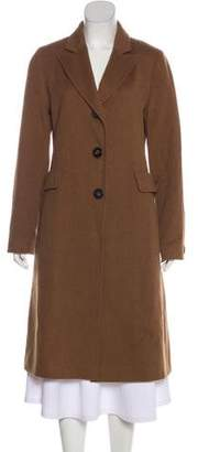Fleurette Camel Hair Long Coat