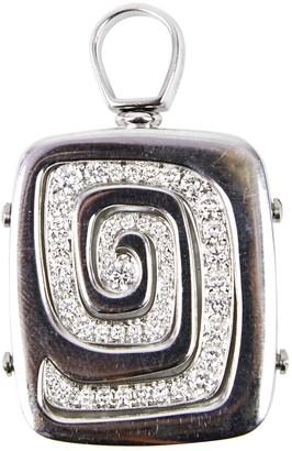 Bulgari Silver Pearl Pendants