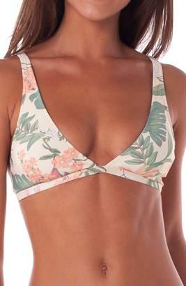 rhythm Barbados Triangle Bikini Top