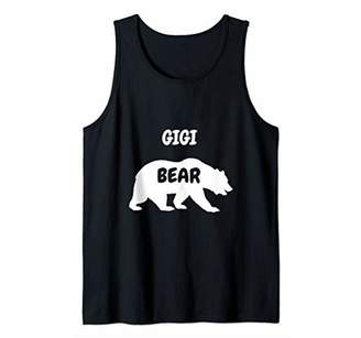 Gigi Bear Funny Grandmother Grandma Granny Gifts Women Tank Top