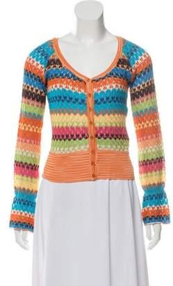 Missoni Lace Knit Cardigan