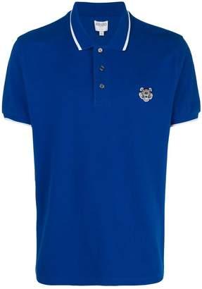 Kenzo plain polo shirt