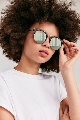Urban Outfitters Poolside Half-Frame Sunglasses $18 thestylecure.com