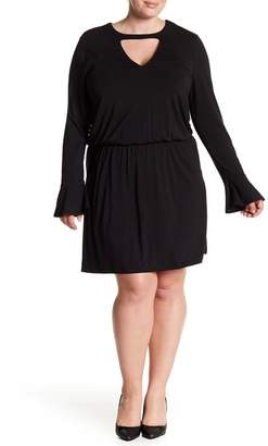 Tart Arianna Keyhole Blouson Dress (Plus Size)