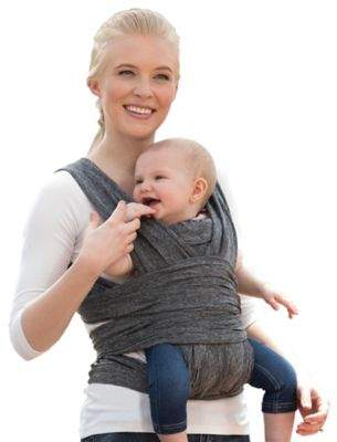 Boppy ComfyFit Baby Carrier in Heather Grey