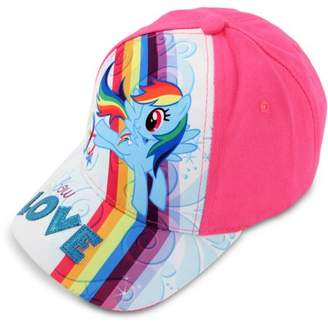 Hasbro Toddler Girls My Little Pony Baseball Cap, Age 2-5