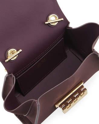 Zac Posen Eartha Mini Chain Crossbody Bag, Dark Purple