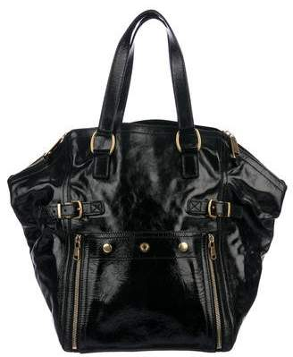Saint Laurent Leather Downtown Tote