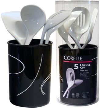 Corelle Simple Lines 5 Piece Utensil Set