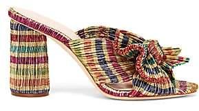 Loeffler Randall Women's Penny Candy Stripe Mules