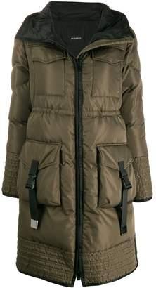 Pinko hooded padded coat