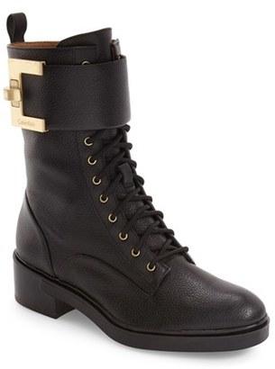 Calvin Klein Skyla Buckle Strap Bootie (Women) $198.95 thestylecure.com