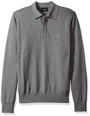 Armani Jeans Men's Regular Fit Long Sleeve Basic Polo