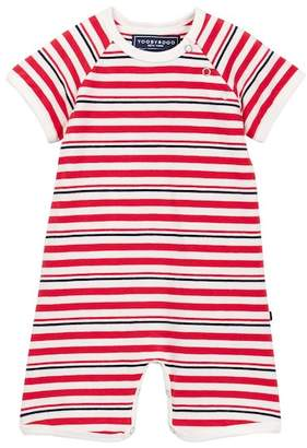 Toobydoo Rouge Bleu Striped Shortie Jumpsuit (Baby Boys)