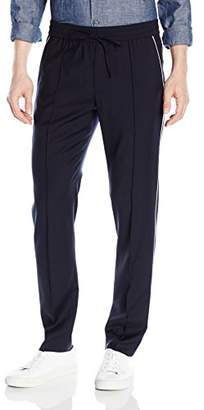 Vince Men's Wool Track Pant with Piping