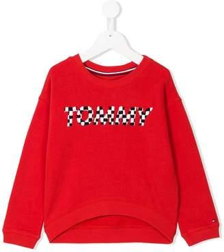Tommy Hilfiger Junior embroidered brand sweatshirt