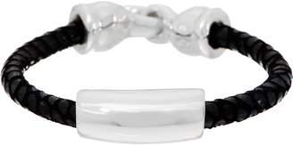 Simon Sebbag Sterling Silver & Textured Suede Bracelet