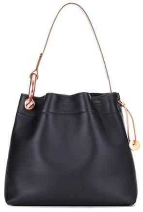 Tom Ford Medium Hook leather shoulder bag
