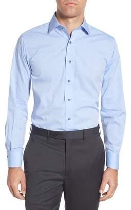 Lorenzo Uomo Trim Fit Paisley Dress Shirt