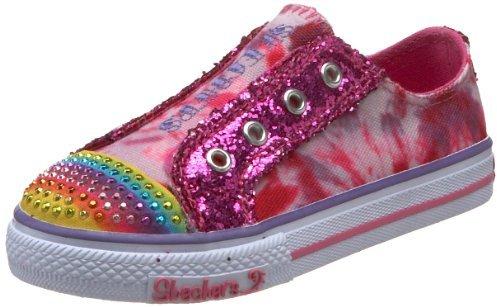 Skechers Twinkle Toes Shuffles-Sparkle Steps Sneaker (Infant/Toddler)