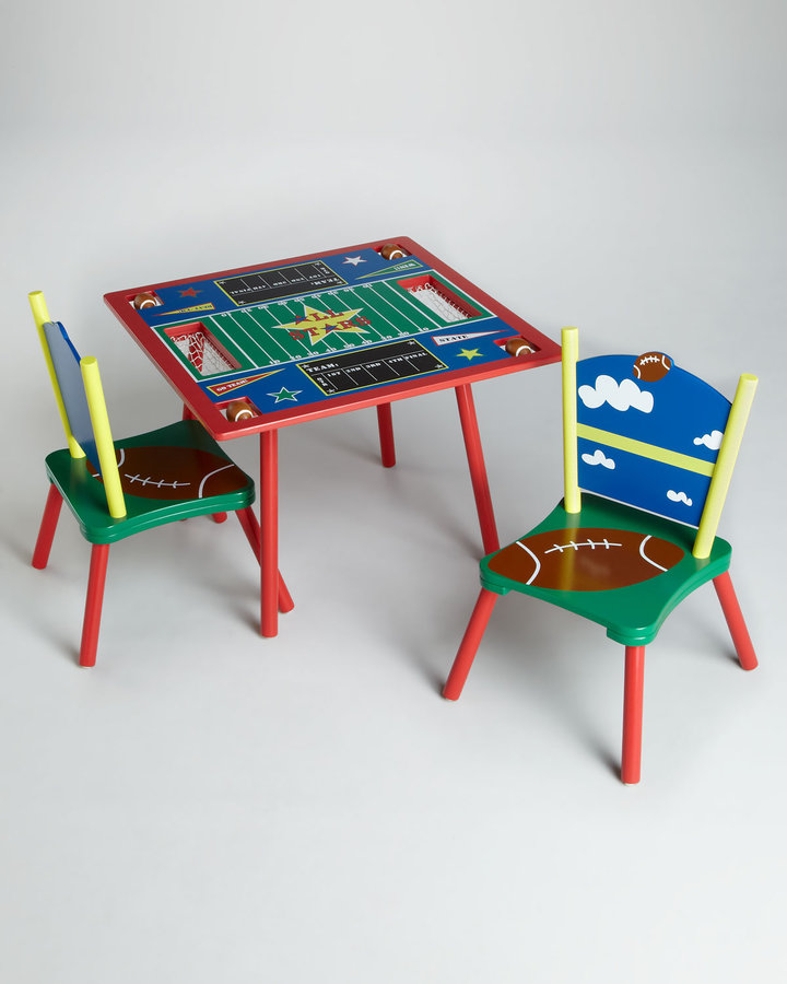 Levels of Discovery All Star Football Table and Chairs Set