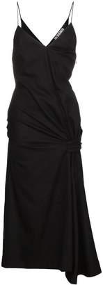 Jacquemus sleeveless gathered dress