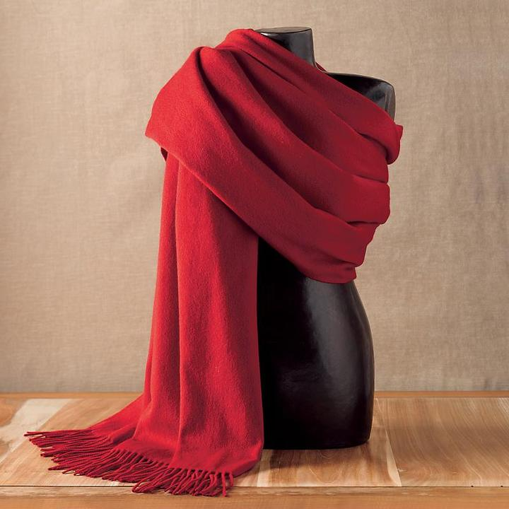 Pomegranate Cashmere Throw