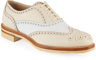 Gravati Two-Tone Wing-Tip Oxfords