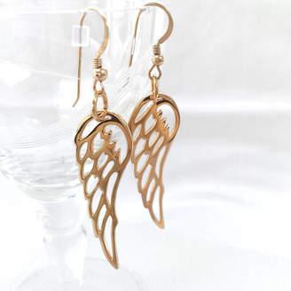 3c7c8c2f42f1a5 Hurleyburley Gold Angel Wing Earrings