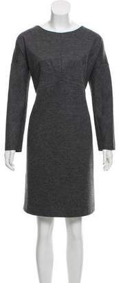Derek Lam Virgin Wool Knee-Length Dress