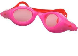 adidas Junior Girls Aquazilla Swimming Goggles Flash Pink/Flame Red