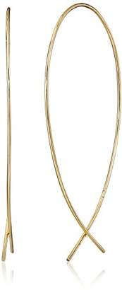 """Jules Smith Designs Girls Night Out"""" Round Wire Hoop Earrings"""