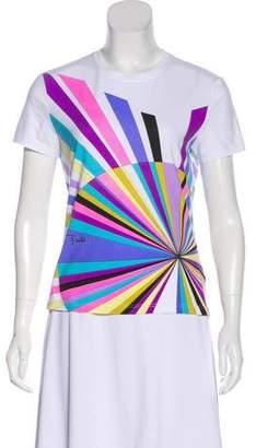 Emilio Pucci Graphic Short Sleeve T-Shirt