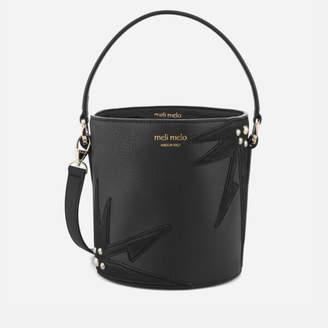 Meli-Melo Women's Santina Mini Bucket Bag - Black/Wonderplant